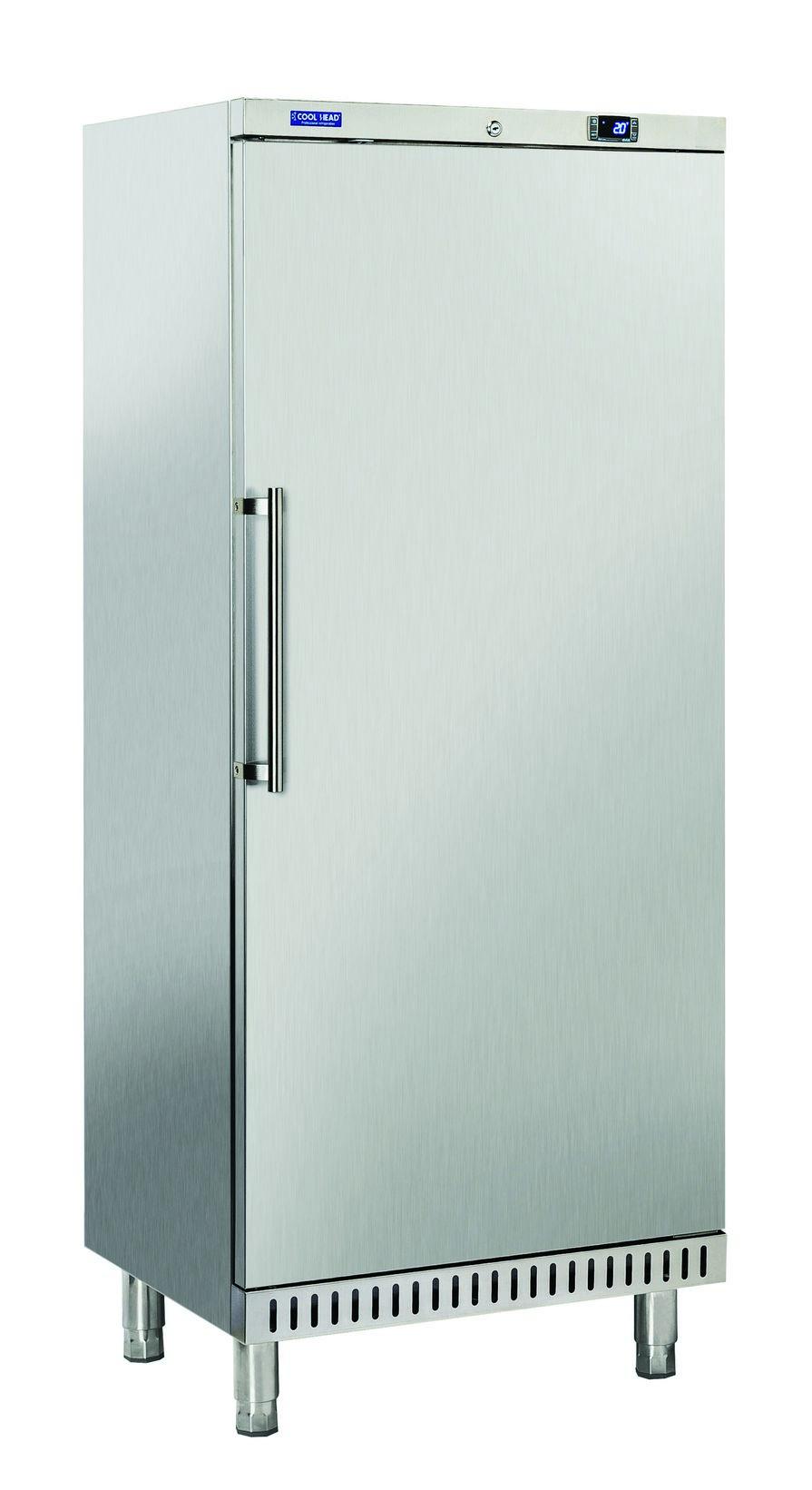 400 literes cukrászati hűtő, ventilációs hűtéssel, teli ajtóval, rozsdamentes