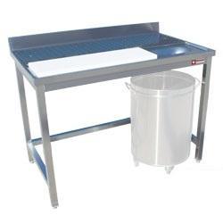 Előkészítő asztalok és pultok