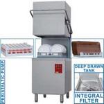 kalapos mosogatógép, 500x500 mm-es kosárral, 60/30 kosár/óra teljesítménnyel