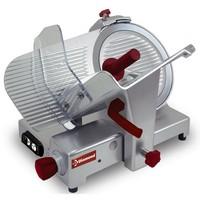 félautomata felvágottszeletelő gép, 300 mm-es késsel, 230x175 mm vágási felülettel