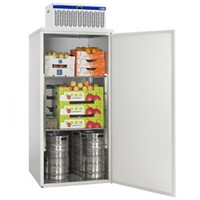 2000 literes mobil hűtőkamra, lapraszerelve, +2/+8°C