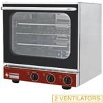elektromos légkeveréses cukrászati sütő, 4 tálcás, grillező funkcióval