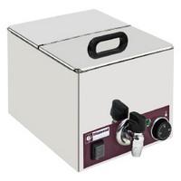 asztali elektromos melegentartó, GN 1/2 - 150 mm kapacitással