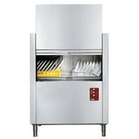 folyamatos üzemű mosogatógép, 500x500 mm-es kosárral, 100 kosár/órás