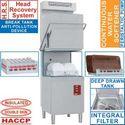 kalapos mosogatógép, folyamatos vízlágyítóval és hővisszanyerő rendszerrel, 500x500 mm-es, 60-24 kosár/órás, duplafalú, 400 V-os