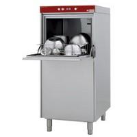 feketeedény mosogatógép, 500x600 mm-es kosárral, 30 kosár/óra teljesítménnyel