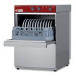 pohármosogató gép, 350*350 mm-es kosárral, 20 kosár/óra teljesítménnyel