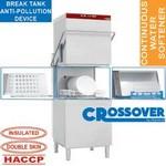 átmenő rendszerű mosogatógép, 600x500 mm-es kosárral