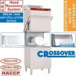 átmenő rendszerű mosogatógép, 600x500 mm-es kosárral, hővisszanyerő rendszerrel