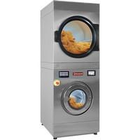 kombinált mosógép és szárítógép, 18 kg ruhatöltethez, érintőképernyős vezérléssel