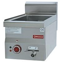 blokkba építhető asztali elektromos vízfürdős melegentartó, 3x GN 1/4 -150 mm kapacitással