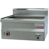 blokkba építhető asztali elektromos vízfürdős melegentartó, 1x GN 1/1 + 2x GN 1/4 -150 mm kapacitással