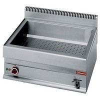 blokkba építhető asztali elektromos vízfürdős melegentartó, GN 2/1-150 mm-es