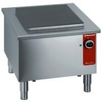 elektromos főzőzsámoly, 400*400 mm-es öntöttvas lappal