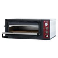 elektromos 1 aknás pizzasütő kemence, 4 db Ø330 mm-es pizza kapacitással