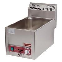blokkba építhető asztali elektromos GN 1/1-es vízfürdős melegentartó, 30-90°C