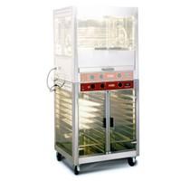 elektromos grillcsirke melegentartó, GN 1/1-es belmérettel, 95°C-ig