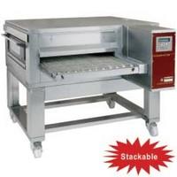 gázos szalagos pizzasütő kemence, 95-110 db (Ø300 mm, 330 gr) pizza/óra kapacitással