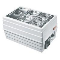 asztali mobil feltéthűtő, GN 1/1 - 150 mm kapacitással, +2/+10°C