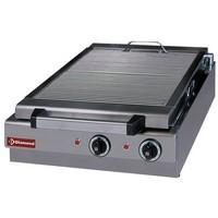 elektromos asztali grillsütő, sütőrács mérete: 410x340 mm