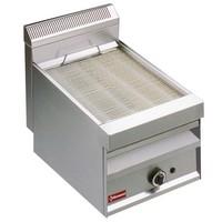 gázos asztali grillsütő, sütőrács mérete: 380x470 mm