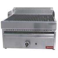 gázos asztali grillsütő, sütőrács mérete: 330x470 mm