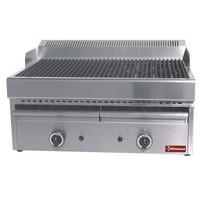gázos asztali grillsütő, sütőrács mérete: 660x470 mm
