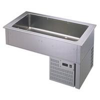 beépíthető hűtött medence 4*GN 1/1-es, +4/+10°C