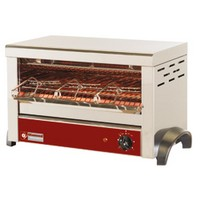 elektromos 1 szintes toaster, 3 db sütőrostéllyal