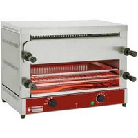 elektromos 2 szintes toaster-szalamander, 2*520x320 mm-es sütőráccsal