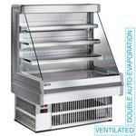 1500 mm-es hűtött fali regál, ventilációs