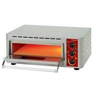 elektromos 1 aknás pizzasütő, 1 db Ø430 mm-es pizza kapacitással