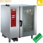 elektromos gőzpároló, 10x GN 1/1 tálcás, bojleres gőzbefecskendezéssel
