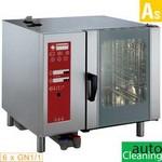 elektromos gőzpároló, 6x GN 1/1 tálcás, bojleres gőzbefecskendezéssel