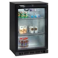 124 literes pult alá építhető italhűtő, üveg ajtóval