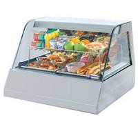 asztali hűtővitrin, 2*GN 1/1-es, +4/+10°C