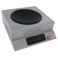 asztali indukciós wok főzőhely, indukciós zóna mérete: 280 mm