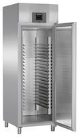 601 literes cukrászati hűtő, ventilációs hűtéssel, teli ajtóval
