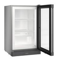 88 literes mélyhűtő, statikus hűtéssel, üveg ajtóval