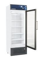 461 literes mélyhűtő, ventilációs hűtéssel, üveg ajtóval