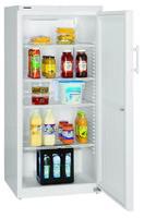 554 literes hűtő, statikus hűtéssel, teli ajtóval