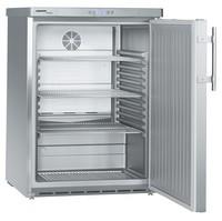 141 literes pult alá helyezhető hűtő, ventilációs hűtéssel, teli ajtóval