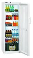 373 literes hűtő, ventilációs hűtéssel, teli ajtóval