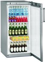 240 literes hűtő, ventilációs hűtéssel, teli ajtóval