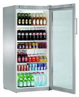 572 literes hűtő, ventilációs hűtéssel, üveg ajtóval