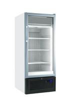 365 literes mélyhűtő, ventilációs hűtéssel, üveg ajtóval