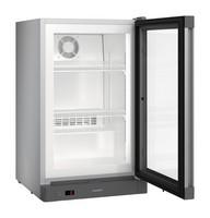 88 literes mélyhűtő, ventilációs hűtéssel, üveg ajtóval