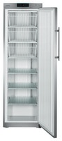 382 literes mélyhűtő, statikus hűtéssel, teli ajtóval
