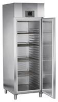 601 literes mélyhűtő, ventilációs hűtéssel, teli ajtóval