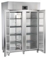 1361 literes hűtő, ventilációs hűtéssel, teli ajtóval